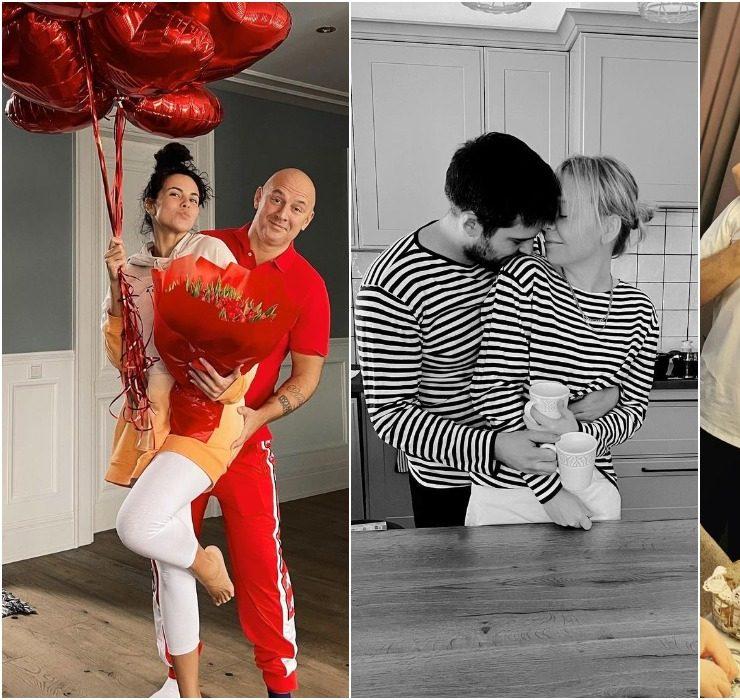 Love around: як Настя Каменських, Катя Осадча, Санта Дімопулос відсвяткували День закоханих
