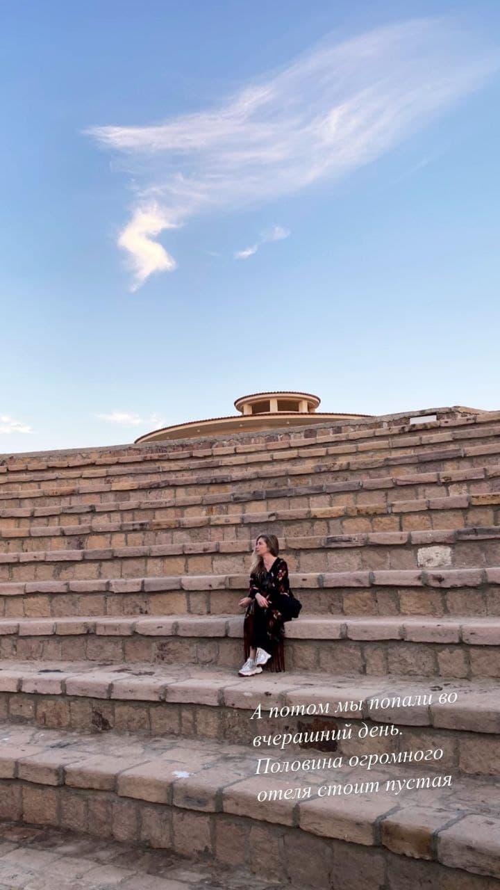 Снорклинг и песни под гитару: как Ольга Навроцкая и Фагот отдыхают в Египте
