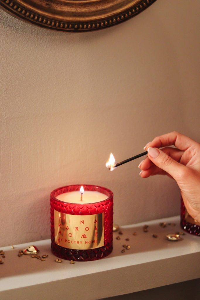 Тина Кароль представила арома-коллекцию для дома