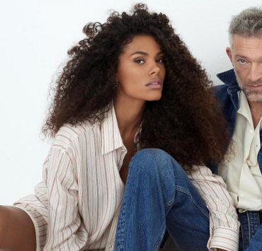 Just love! Тина Кунаки и Венсан Кассель снялись в совместной фотосессии