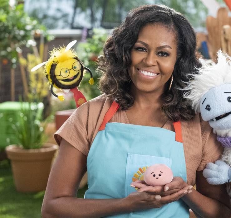 Мишель Обама запускает авторское детское шоу на Netflix