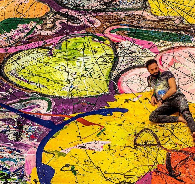 У Дубаї продали найбільшу картину в світі за $62 мільйони
