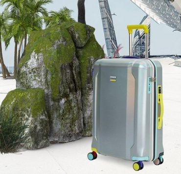 Бренд KSENIASCHNAIDER выпустил чемодан из переработанных бутылок