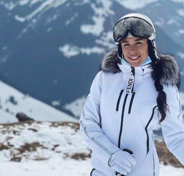 Отель из снега и горные пейзажи: Иванна Онуфрийчук отдыхает с мужем в Швейцарии
