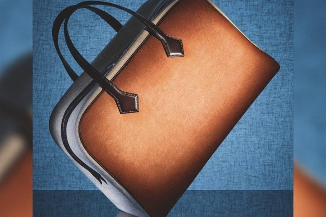 Hermès выпустили сумку из грибной «кожи»
