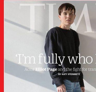 Эллиот Пейдж стал первым трансгендерным мужчиной на обложке журнала Time
