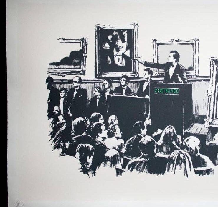 Картину Бенксі спалили в прямому ефірі та перетворили у віртуальний актив NFT