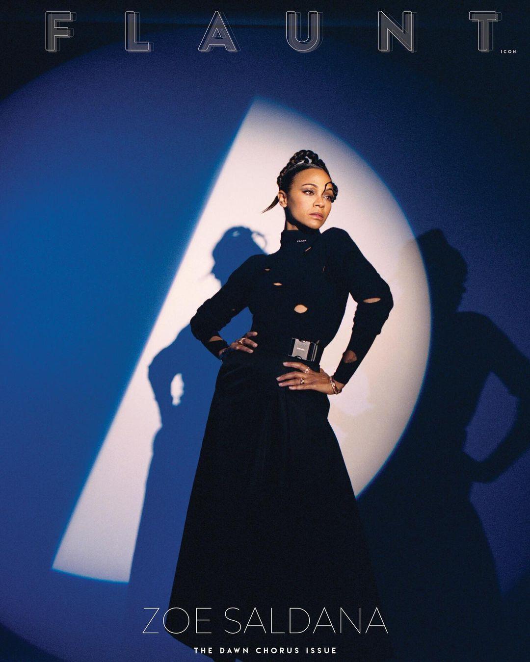 В Chanel и Louis Vuitton: актриса Зои Салдана в объективе украинки Саши Самсоновой