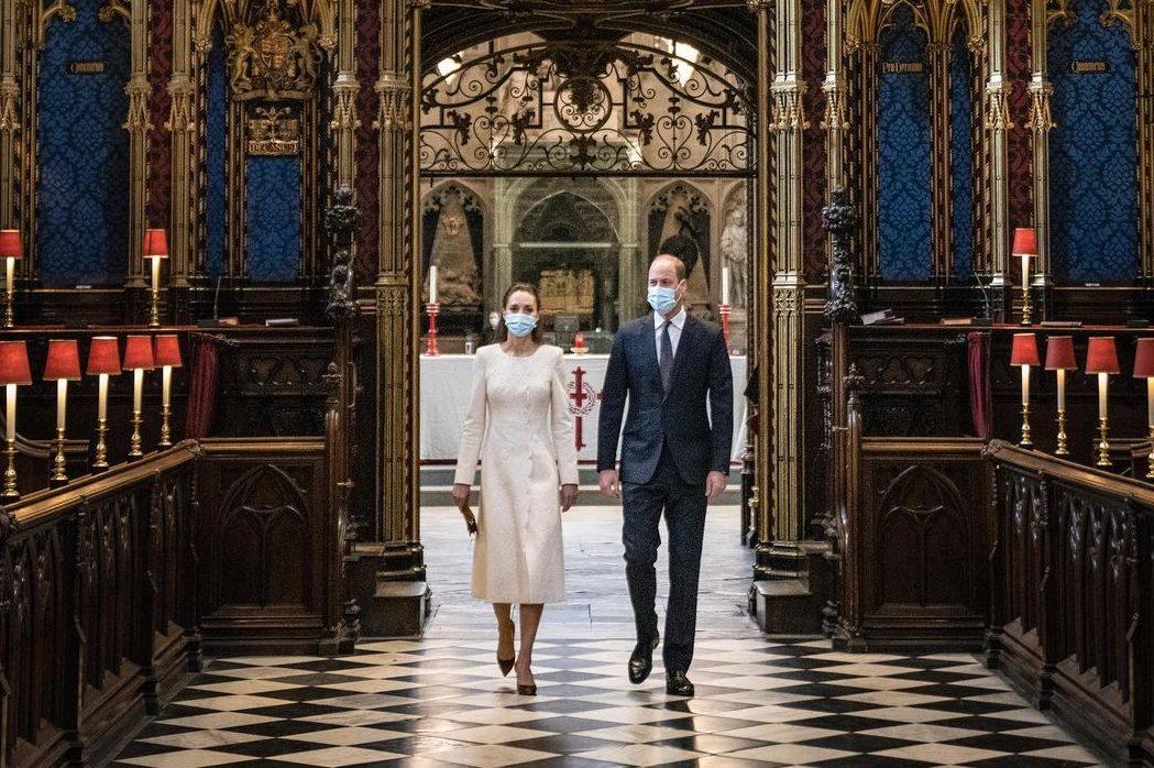 У мереживній сукні: нова поява Кейт Міддлтон у Вестмінстерському абатстві