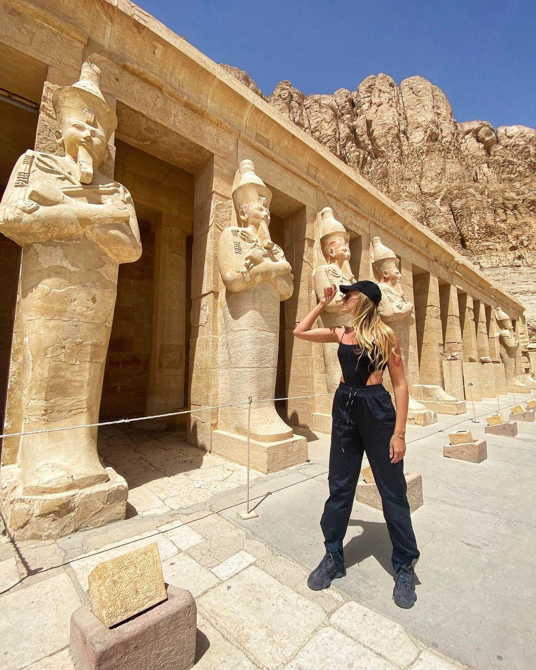 Не только all inclusive: как Леся Никитюк отдыхает в Египте