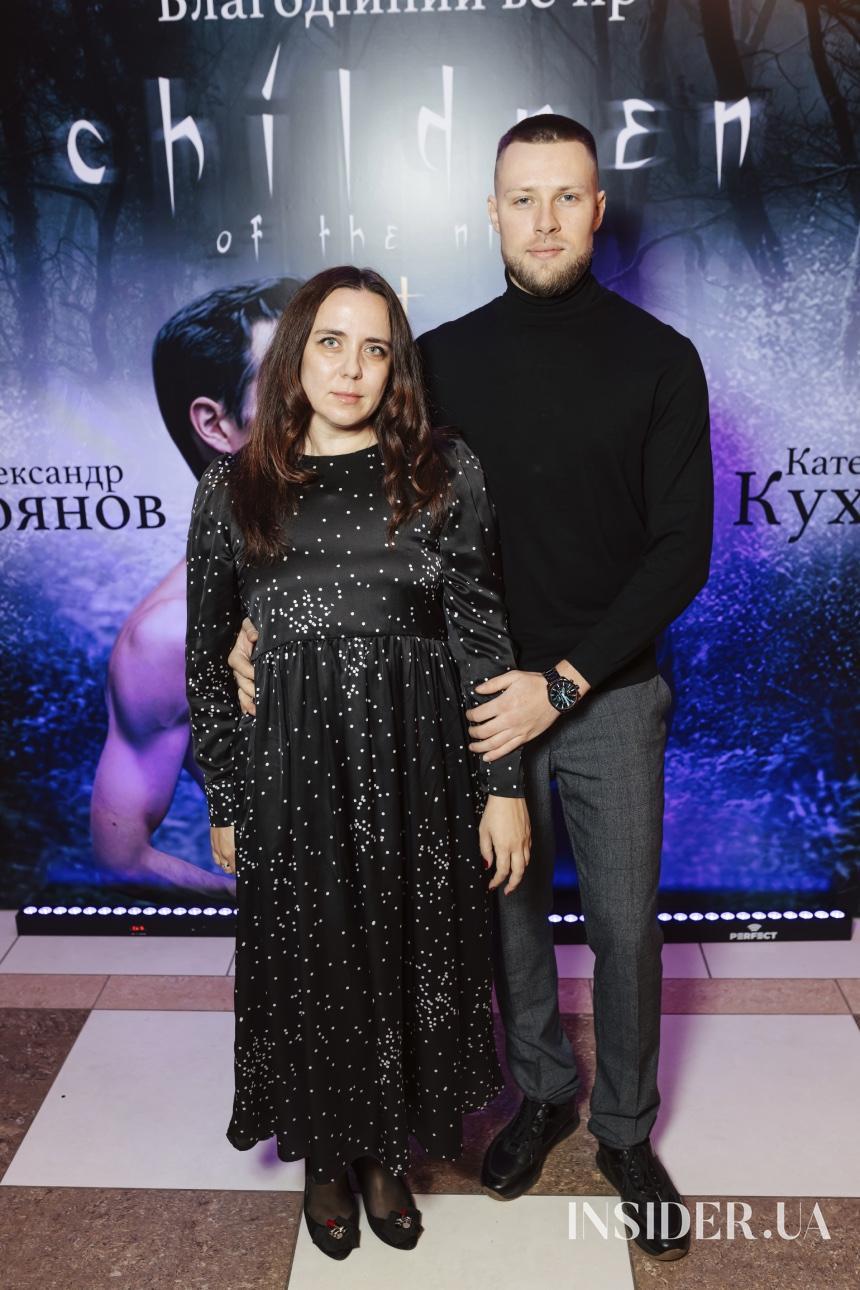 Meet & Greet: Екатерина Кухар и Александр Стоянов устроили благотворительный ужин