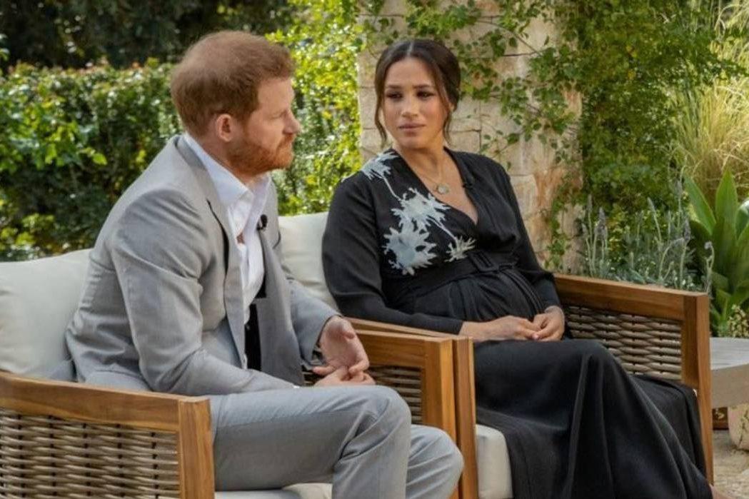 В сети появился тизер откровенного интервью Меган Маркл и принца Гарри Опре Уинфри