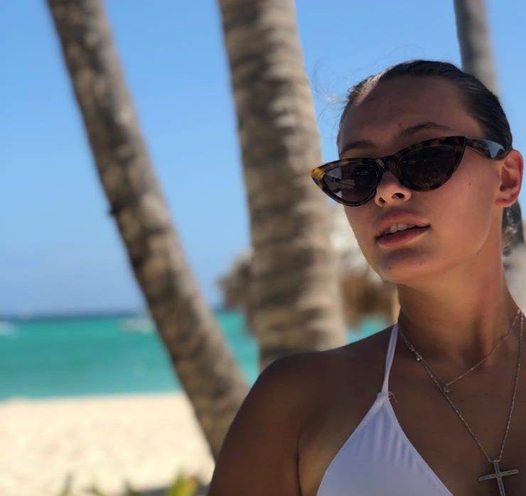 Суцільний релакс: мальдівські канікули Доменіки Ющенко