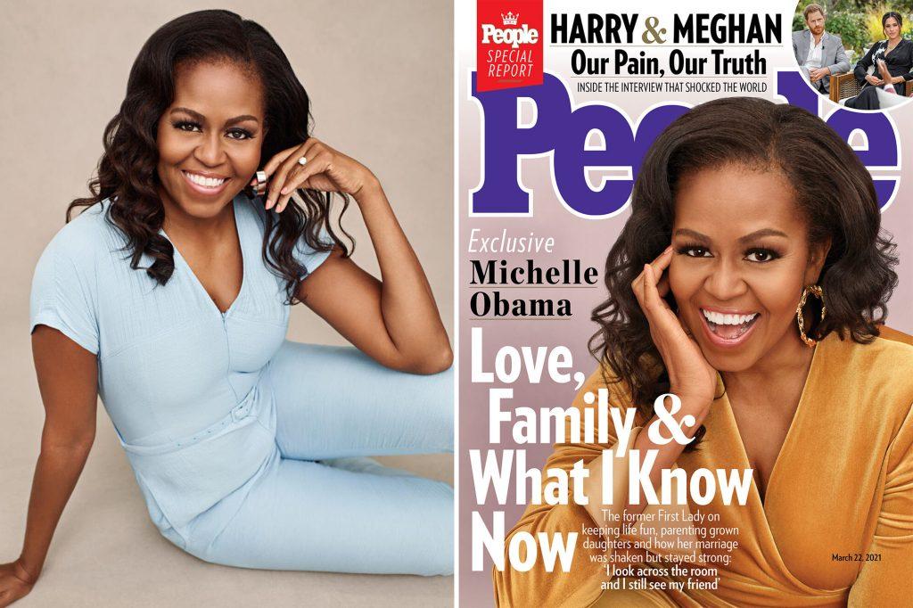 «Происходило много ужасных вещей», – Мишель Обама рассказала о своей депрессии во время пандемии
