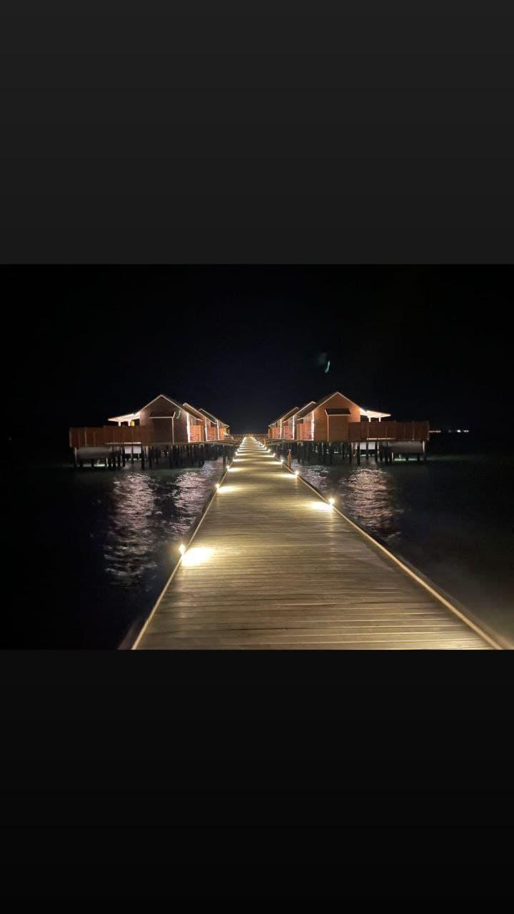 Сплошной релакс: мальдивские каникулы Доменики Ющенко