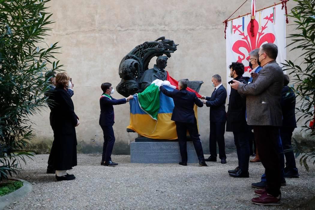 Во Флоренции открыли памятник Тарасу Шевченко