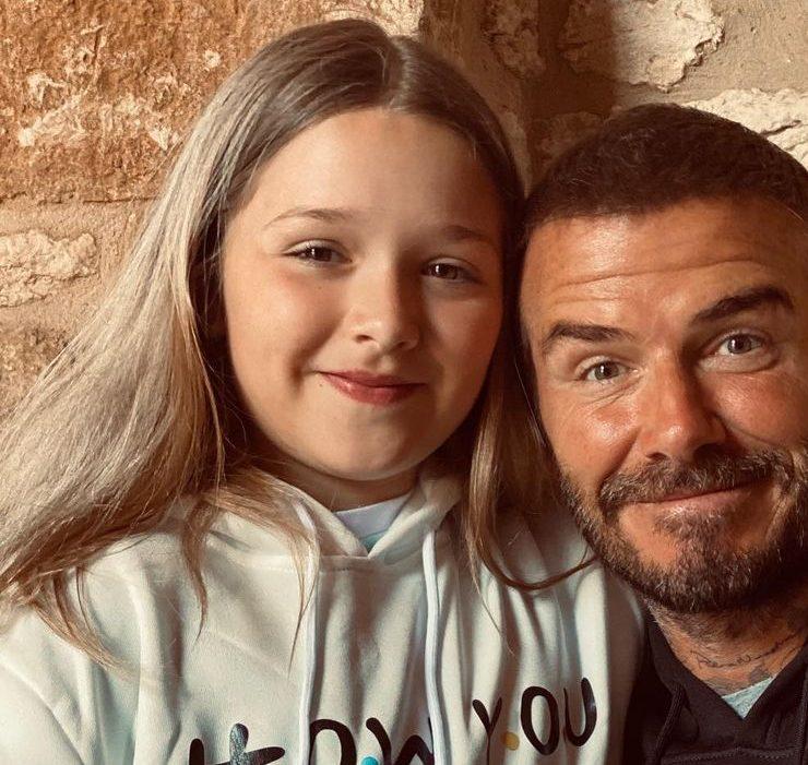 Татусеві Insta-будні: наймиліші фото Девіда Бекхема з донькою
