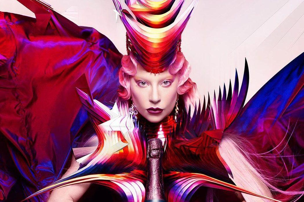 Леди Гага стала новым лицом Dom Pérignon