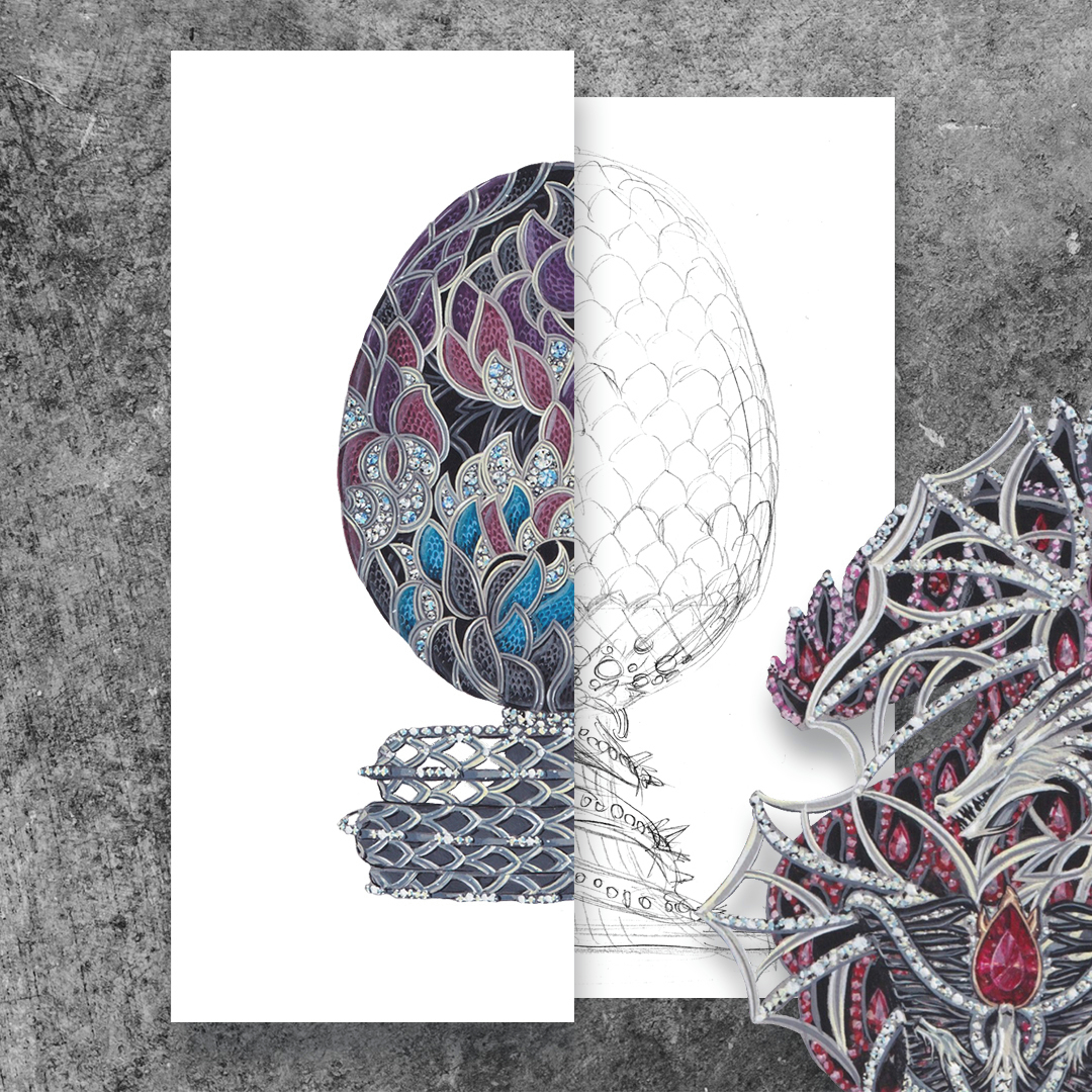 Fabergé представили уникальное бриллиантовое яйцо к 10-летию «Игры престолов»