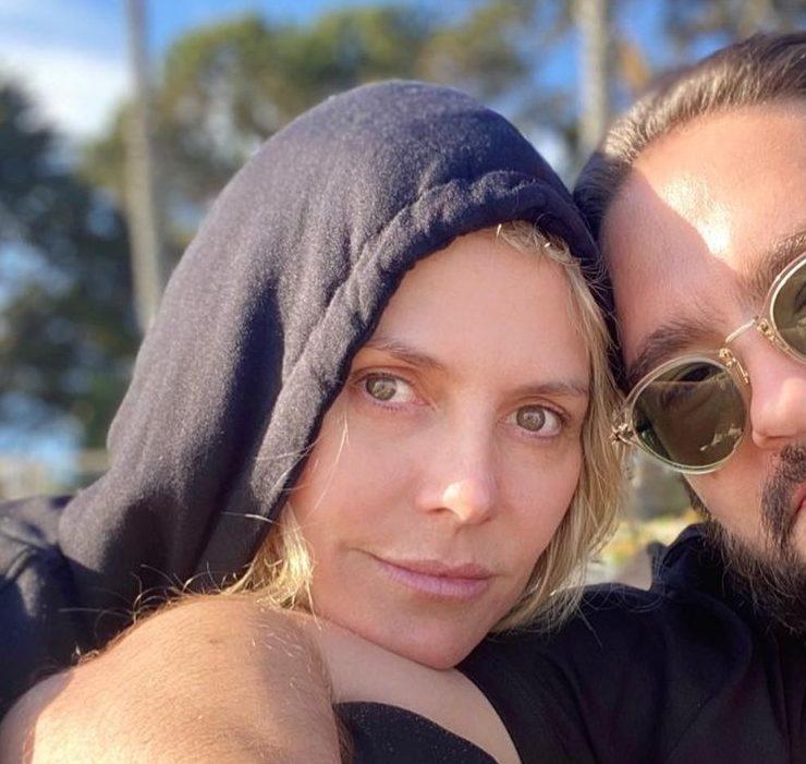 Just love: Гайді Клум і Том Каулітц на пляжі в Каліфорнії