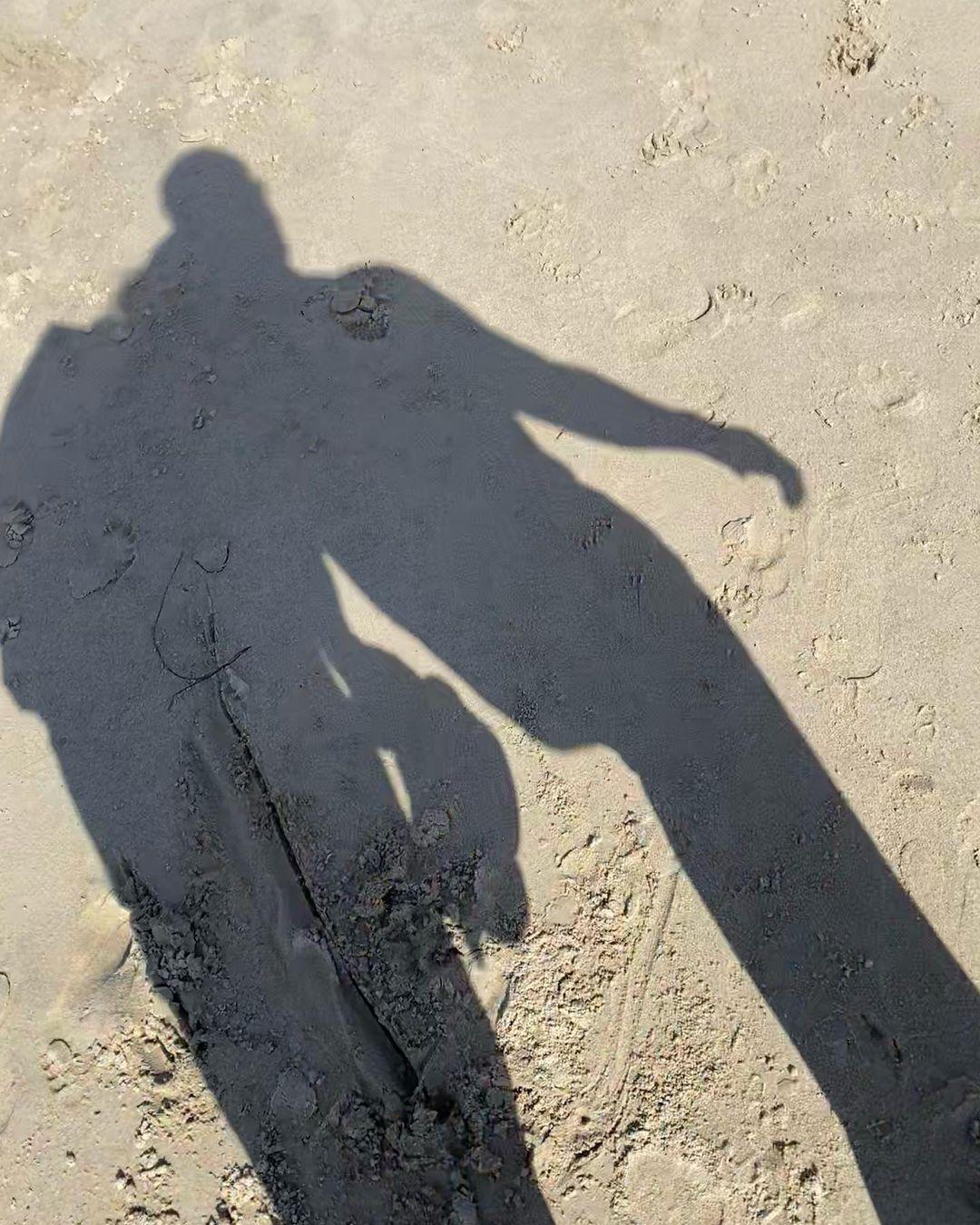 Just love: Хайди Клум и Том Каулитц на пляже в Калифорнии