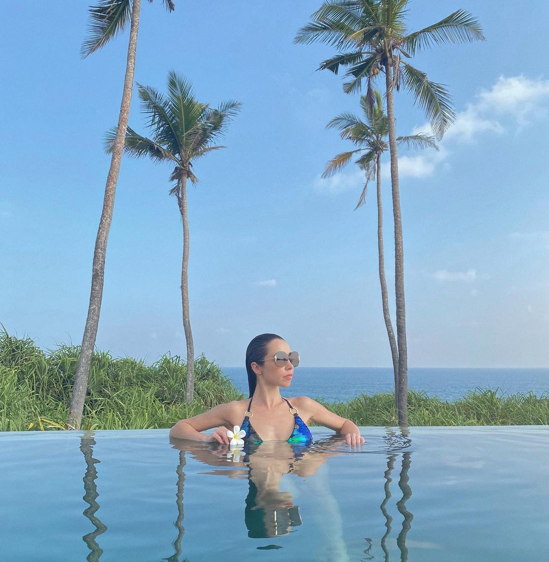 Slow life: каникулы Екатерины Кухар и Александра Стоянова на Шри-Ланке