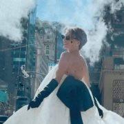 Выход в белом: Елена Зеленская в костюме от the COAT by Katya Silchencko