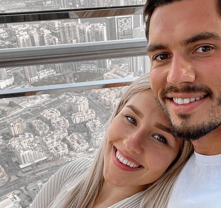 Каникулы-сюрприз: Даша Квиткова и Никита Добрынин отдыхают в Дубае