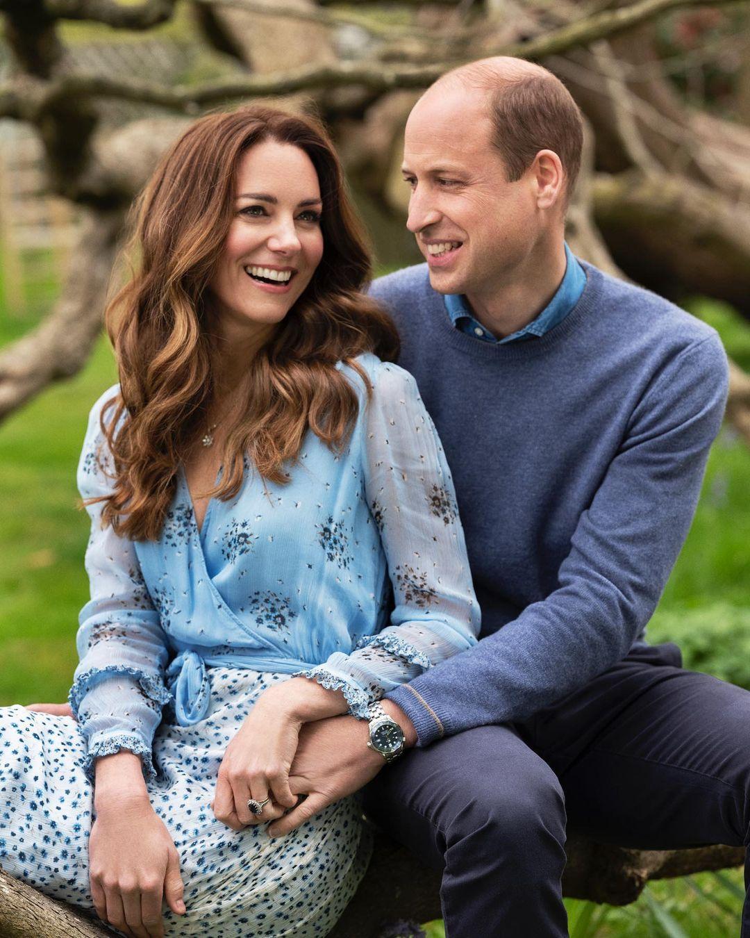 Это любовь: новые фото Кейт Миддлтон и принца Уильяма в честь годовщины свадьбы