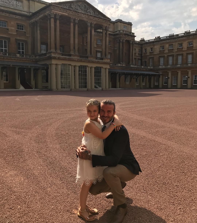 Папины Insta-будни: самые милые фото Дэвида Бекхэма с дочерью