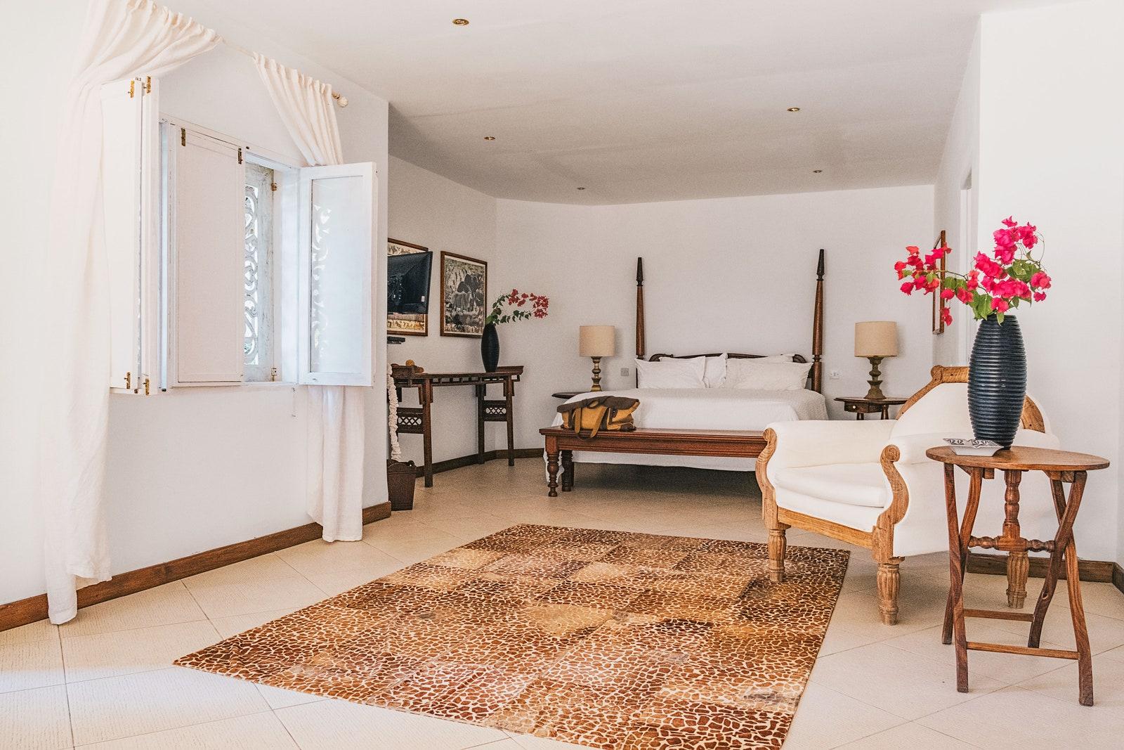 В гостях у Наоми Кэмпбелл: экскурсия по колоритному дому модели в Кении