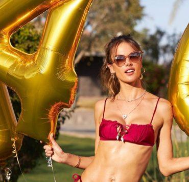 Алессандре Амбросио – 40! С таким телом грех не праздновать