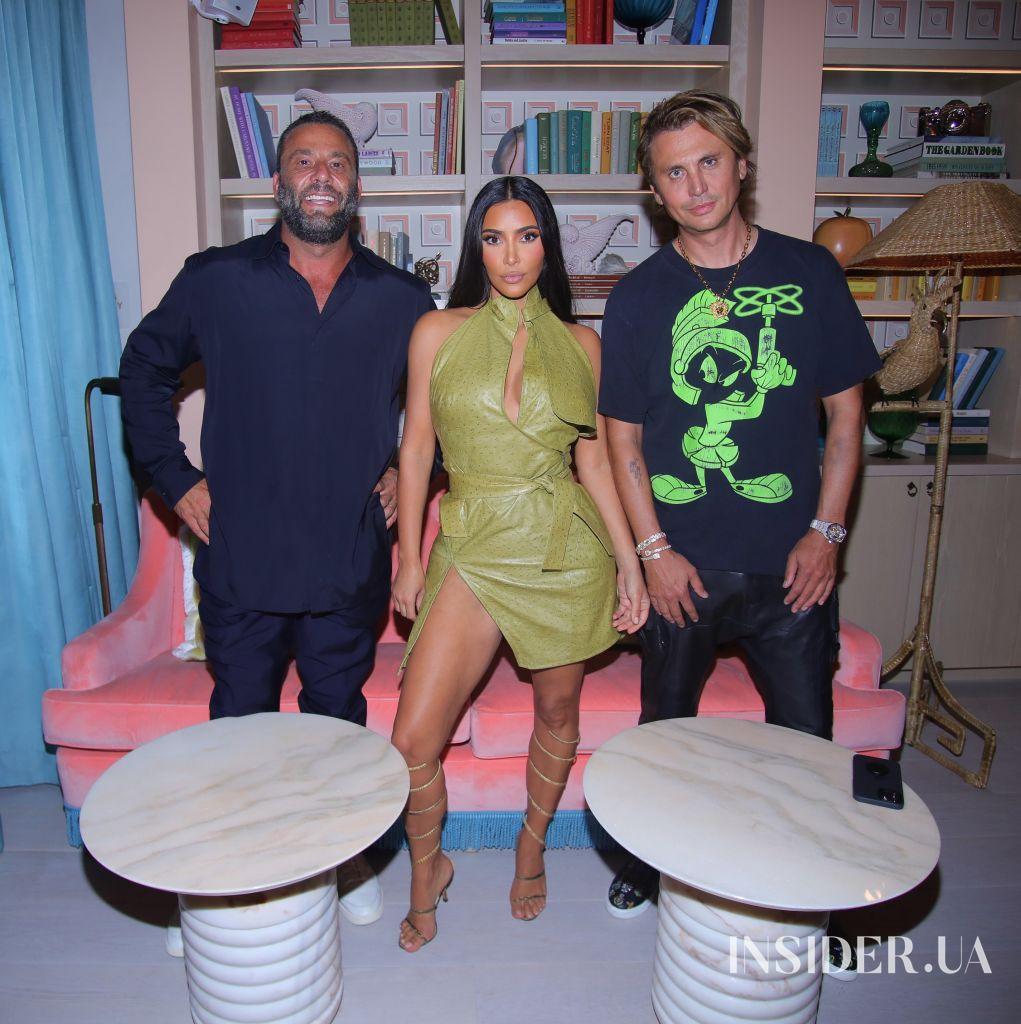 Фаррелл Уильямс, Ким Кардашьян и Бекхэмы на вечеринке в Майами