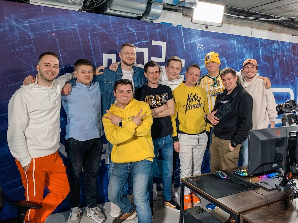 Группа MOZGI презентовала клип на киберспортивном матче
