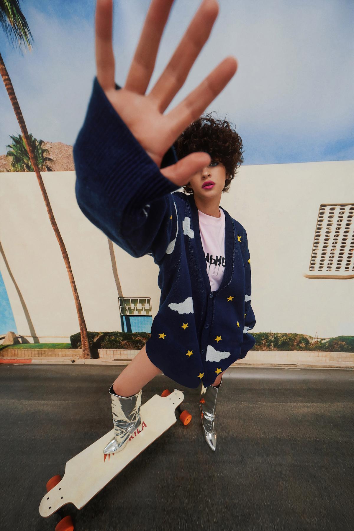 На фоне Лос-Анджелеса: кампейн новой коллекции Monatik РитмоLOVE