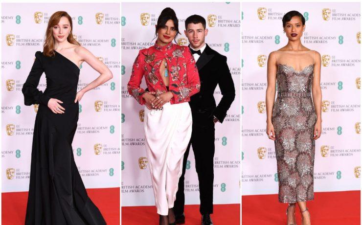 Пріянка Чопра, Рене Зеллвегер і Фібі Дайневор на червоному хіднику BAFTA-2021
