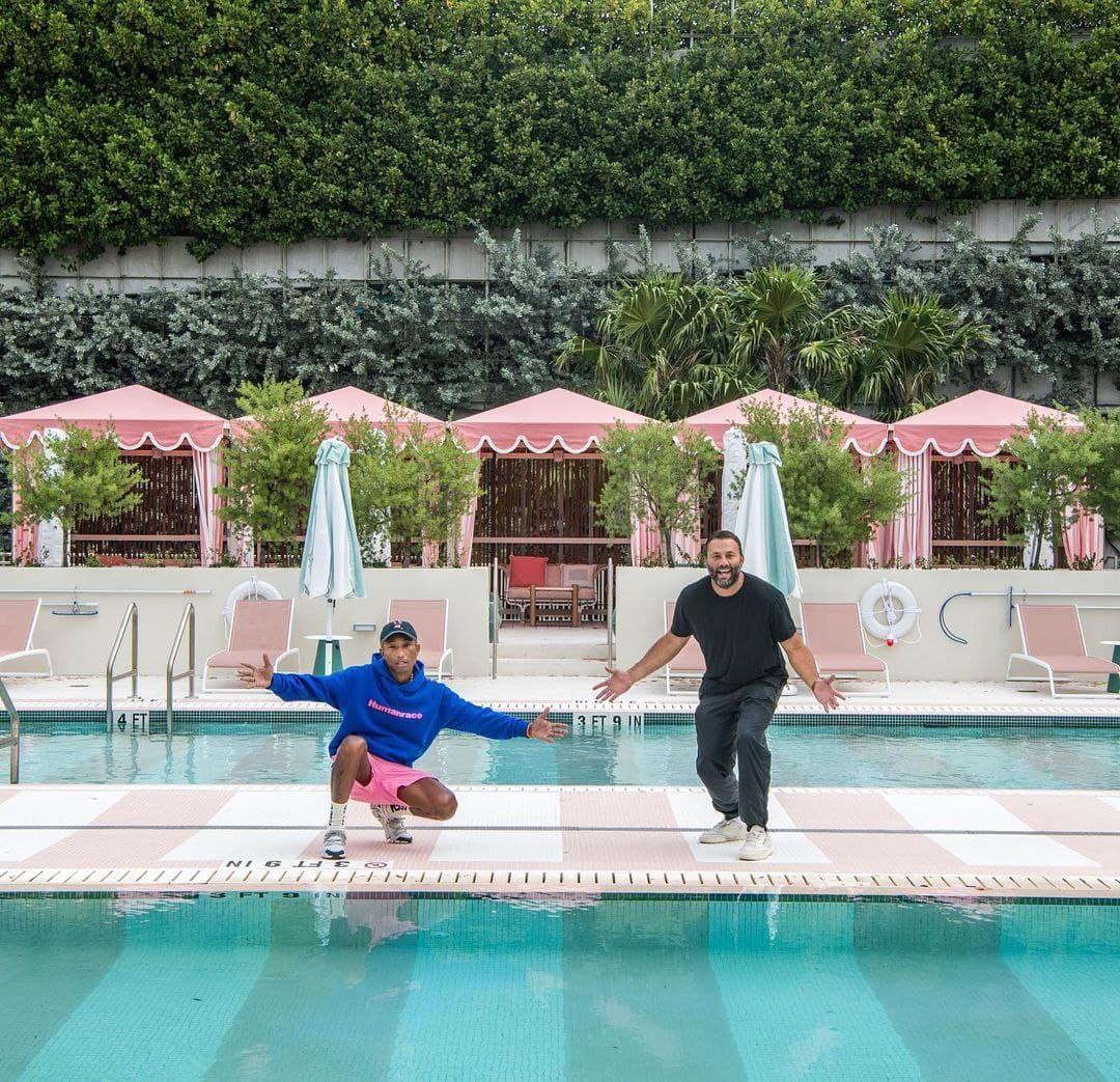 Рай для инстаграмщиков: Фаррелл Уильямс открыл стильный отель в Майами