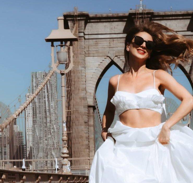 Кадри з Нью-Йорка: весільна колекція Wona & the Coat by Katya Silchenko