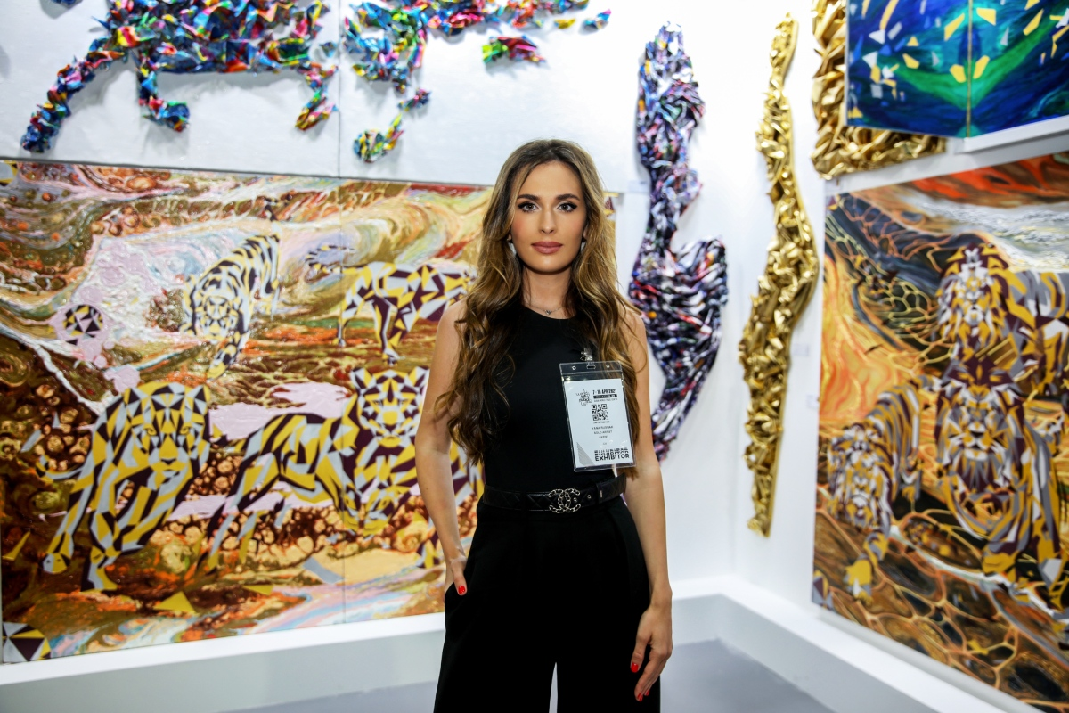 «Здесь нет жестких арт-критиков»: художница Яна Руснак –о ярмарке World Art Dubai 2021