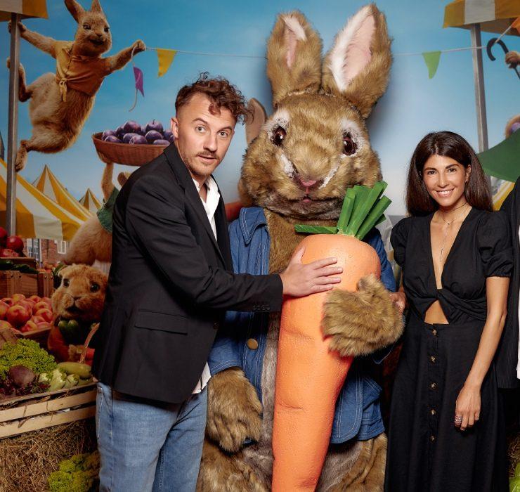 Сабіна Мусіна, Тимур Мірошниченко та інші гості прем'єри «Кролик Петрик: Втеча до міста»