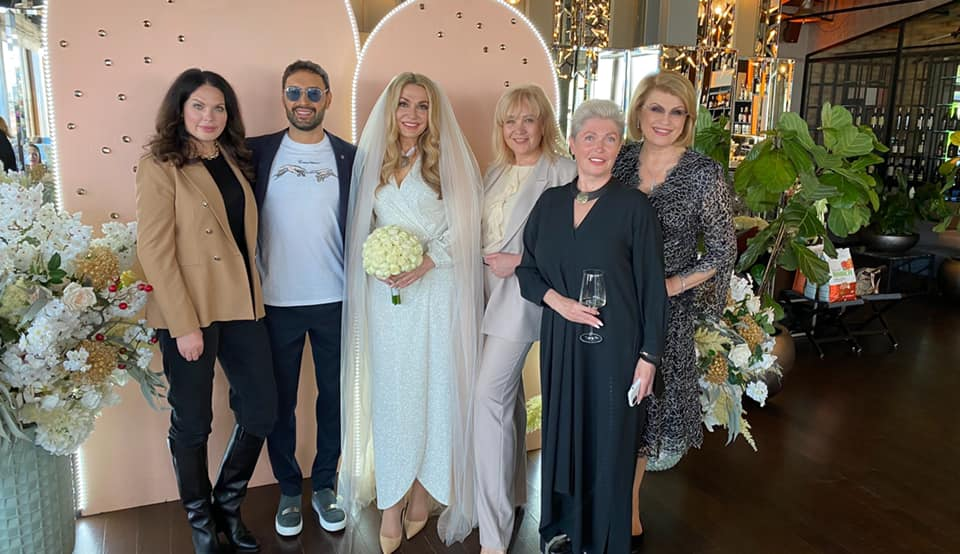 Ольга Сумская и Виталий Борисюк поженились во второй раз