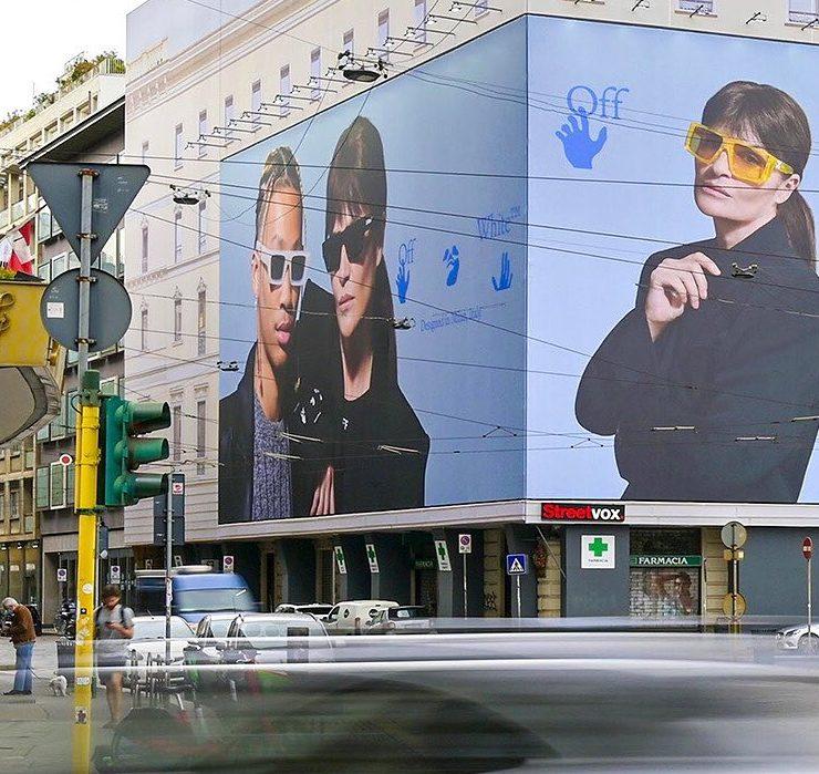Украинки Таня и Женя Постернак сняли рекламу для Off-White
