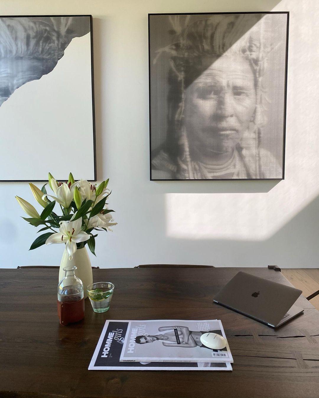 Минимализм и шик: рассматриваем дом Роузи Хантингтон-Уайтли