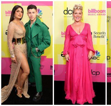 Приянка Чопра, Меган Фокс и Пинк на красной дорожке Billboard Music Awards 2021
