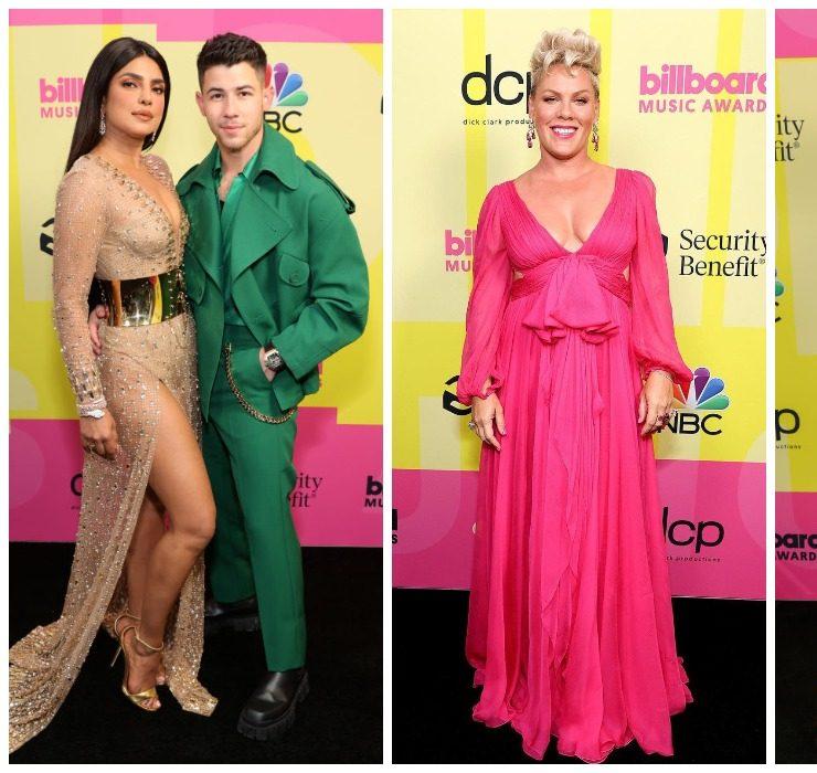 Пріянка Чопра, Меган Фокс і Пінк на червоному хіднику Billboard Music Awards 2021