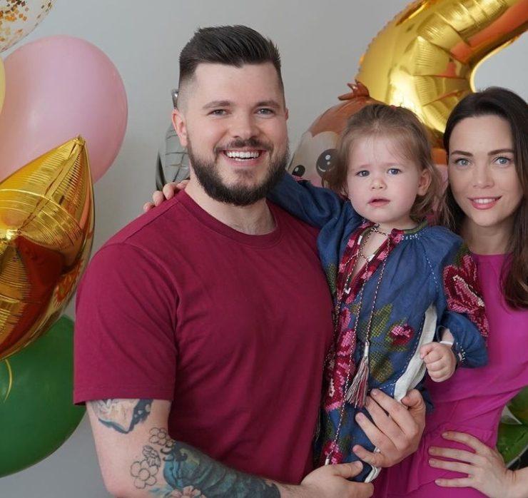 Валерий Созановский и Леся Матвеева отметили 2-летие дочки