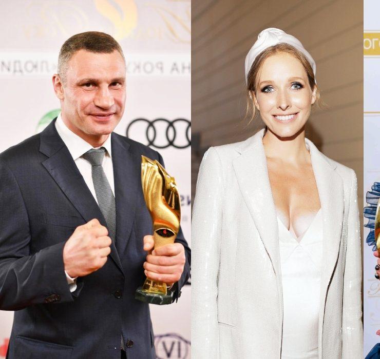 Віталій Кличко, Катя Осадча та інші гості церемонії «Людина Року – 2020»