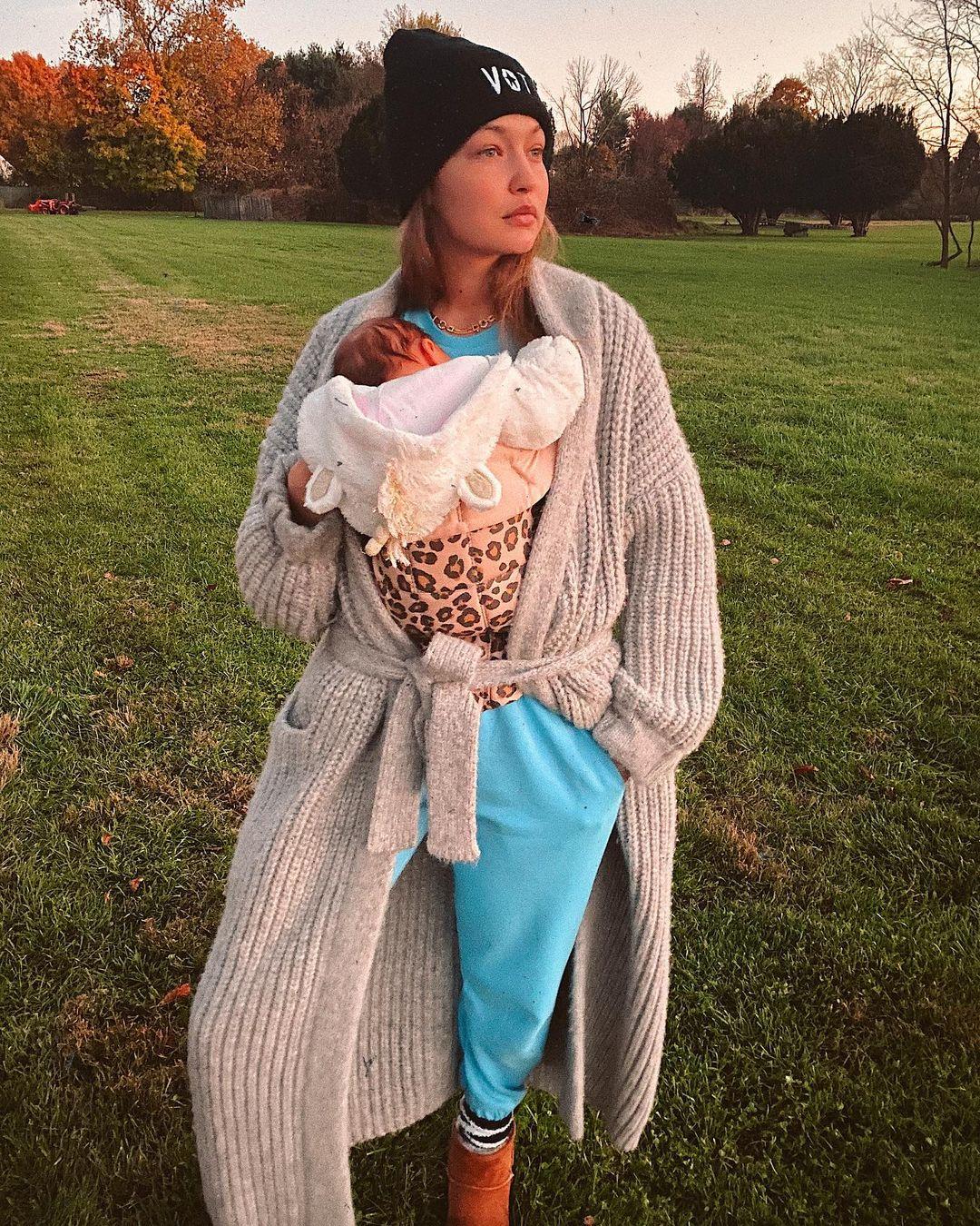 «Хочу дать дорогу следующему поколению»: Джиджи Хадид намерена завершить модельную карьеру