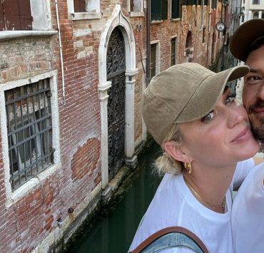 Пицца, поцелуи и селфи: Кэти Перри и Орландо Блум отдыхают в Венеции