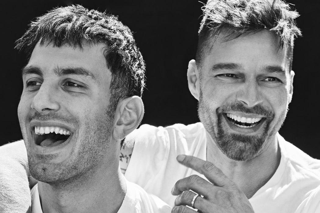 Чувственные кадры: Рики Мартин и Джван Йосеф снялись в новой фотосессии